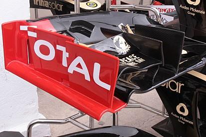 La Lotus propone il nolder ricurvo sul flap anteriore