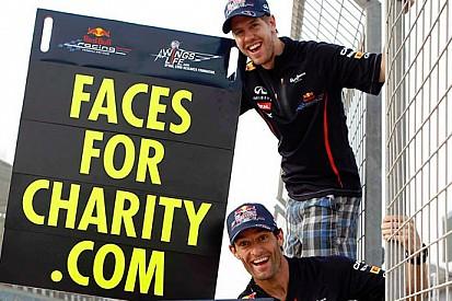 Red Bull: Faces for Charity raccoglie 1 milione di euro