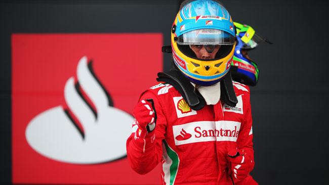 Alonso dedica la pole a Maria de Villota