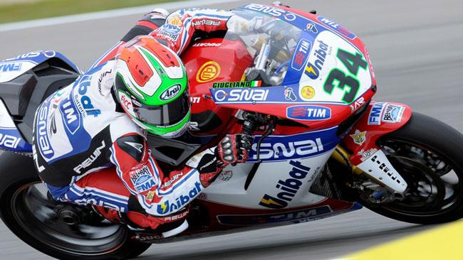 Brno, Q1: prima pole provvisoria per Davide Giugliano