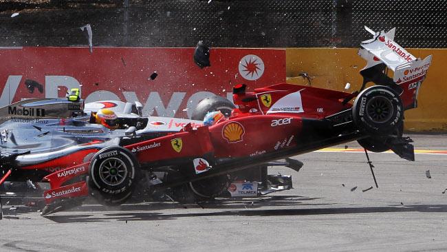 Fernando Alonso la prende con filosofia