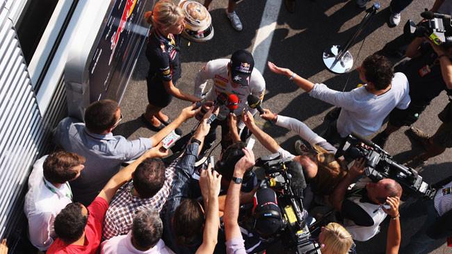 Vettel non è soddisfatto della Red Bull