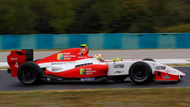 Robin Frijns in pole anche in gara 2 a Budapest