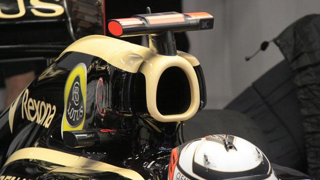 La Lotus ha rinunciato al Super DRS