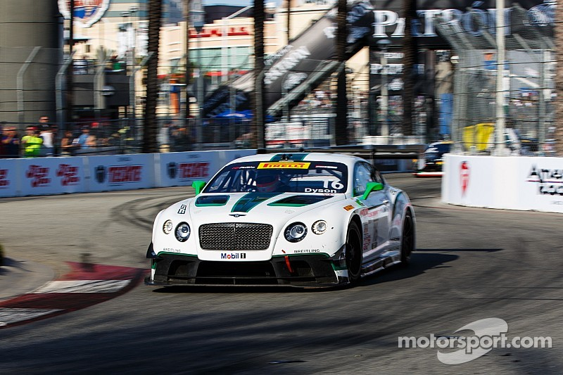 Bentley Team Dyson looks for luck at CTMP
