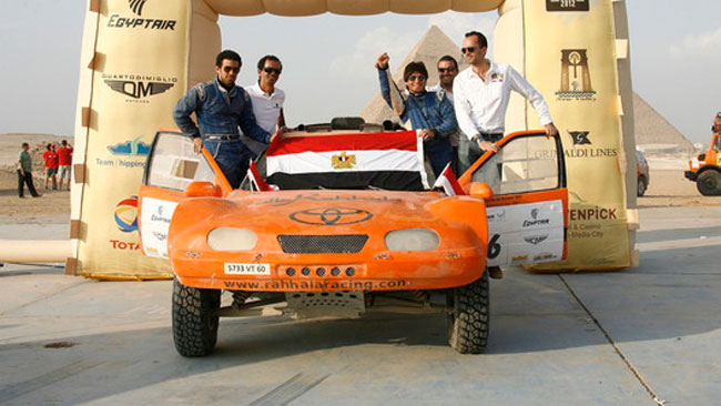 Tarek El Erian, dalle Piramidi alla Dakar