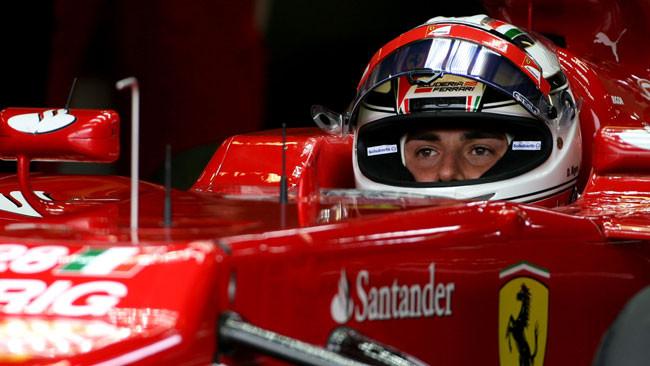 Rigon prova le novità della Ferrari ad Idiada