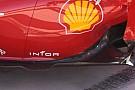 Ferrari: due deviatori nel fondo della F2012