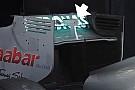 Mercedes: nuovo comando del DRS sull'ala posteriore