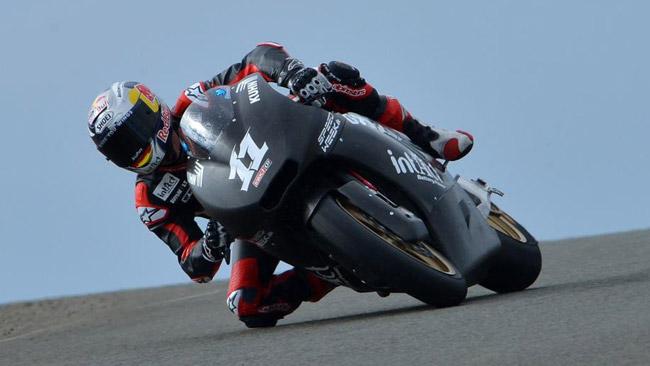 Sandro Cortese soddisfatto del primo test in Moto2