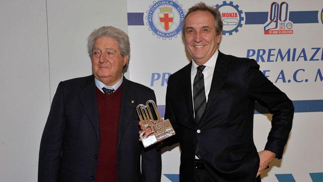Lotus Cup: l'ACI Milano premia Nando Cazzaniga