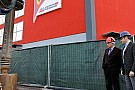 Domenicali avvia i lavori alla nuova sede Ferrari