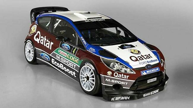 M-Sport svela la livrea delle sue Fiesta per il 2013