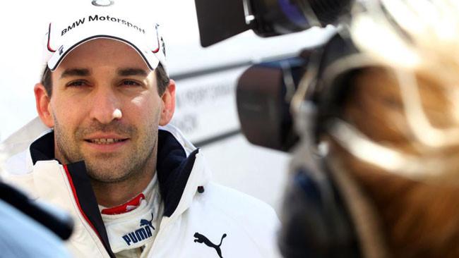 Timo Glock si è divertito sulla M3 DTM a Valencia