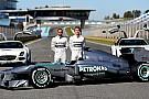 Ecco la Mercedes W04, la prima dell'era Hamilton