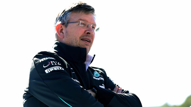Brawn anticipa l'arrivo di novità sulla W04 nei test