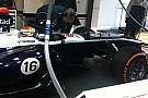 La Williams prova il vanity panel sulla FW34