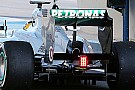 La Mercedes sta provando il doppio DRS passivo!