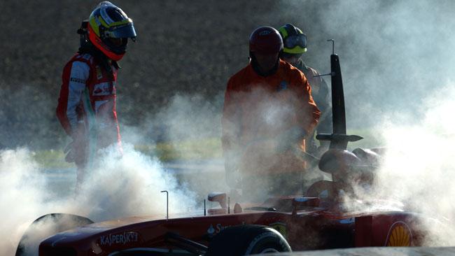 La Ferrari conferma un problema al cambio