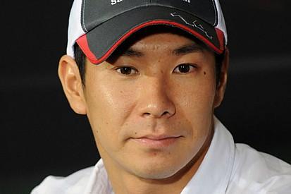 Test con la Ferrari AF Corse per Kamui Kobayashi
