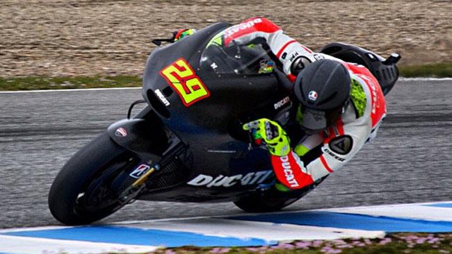 La Ducati GP13 fa progressi nei test di Jerez