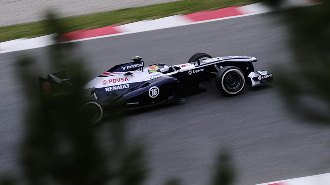 Barcellona, Day 3, Ore 10: Maldonado subito veloce