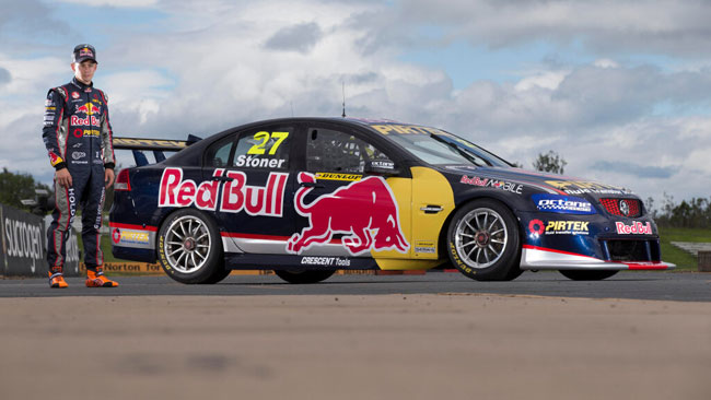 Casey Stoner presenta la sua Holden Commodore