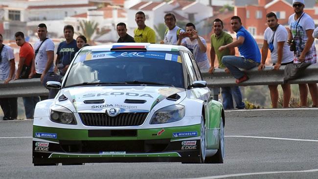 Canarie, PS13: Kopecky ad un passo dalla vittoria