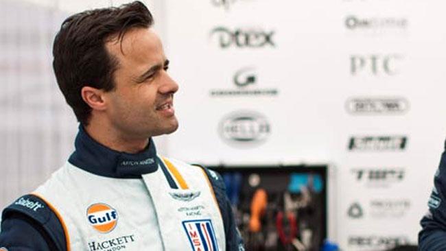 La Aston Martin porta Pedro Lamy a Silverstone
