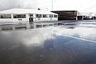 Il diluvio blocca tutto: qualifiche posticipate a domani