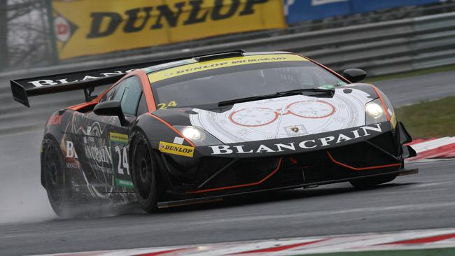 La nuova Lamborghini Gallardo GT3 vince all'esordio