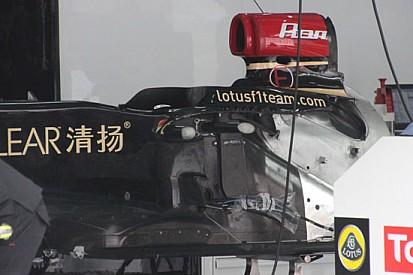 La Lotus sostituisce il telaio a Grosjean