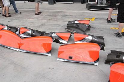 La McLaren e i pezzi che non sono andati in galleria