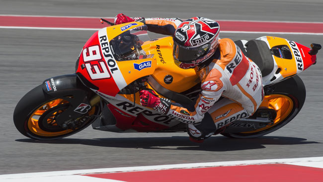 Marquez firma la sua prima pole in MotoGp ad Austin