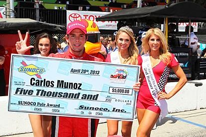 A Long Beach terza pole 2013 per Carlos Muñoz