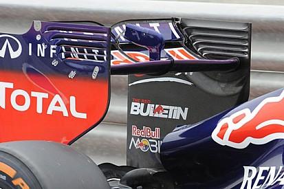 La Red Bull punta sull'alettone posteriore più carico