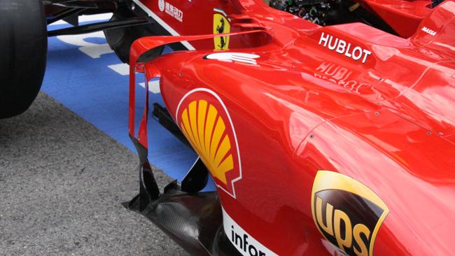 Ferrari: deviatore di flusso a ponte sulla F138