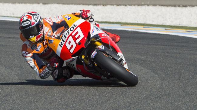 Le Mans, Libere 3: che zampata di Marquez!