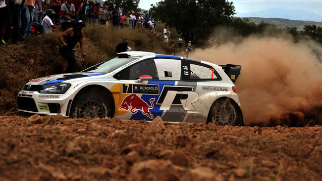 Acropoli, PS10: Latvala in fuga a fine tappa