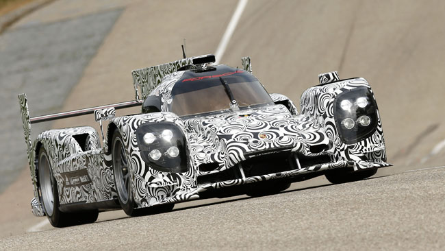 Primo test a Weissach per la nuova Porsche LMP1