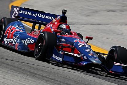 Marco Andretti conquista la pole a Milwaukee