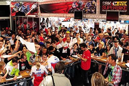 Giovedì prossimo paddock aperto ad Imola per la SBK