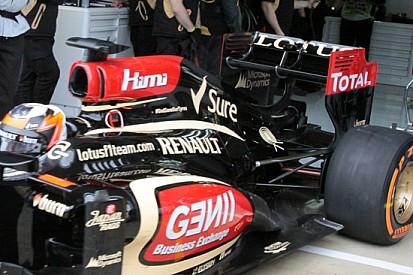 Promosso il Doppio DRS sulla Lotus di Kimi
