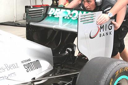 Mercedes: ecco il Doppio DRS da provare nelle libere!