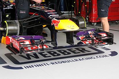 La Red Bull ritorna con il muso a squalo martello