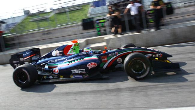 Esordio positivo per Riccardo Agostini in Austria