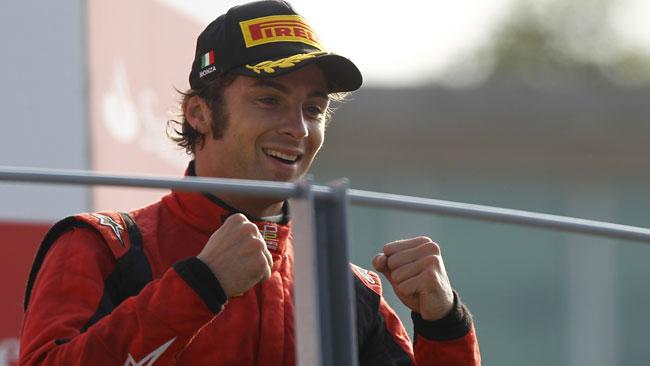 Luca Filippi vicino alla Bryan Herta Autosport!