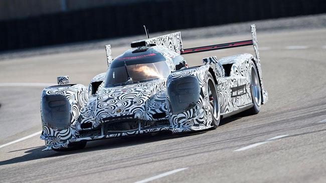 Jani porta avanti lo sviluppo della Porsche LMP1