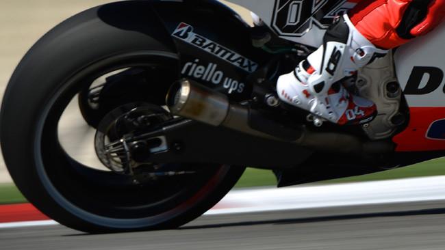 Ecco il nuovo scarico ovale della Ducati