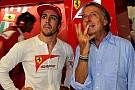 Alonso e Montezemolo parlano del futuro a Maranello